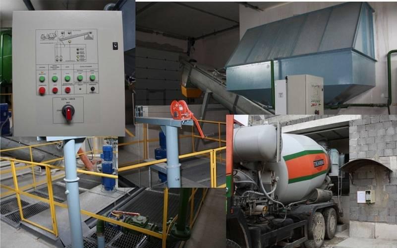 Рециклинговая установка производства ГК «Элтикон» производительностью 10 м<sup>3/час